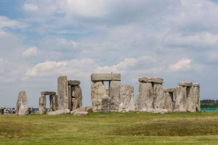 edad de piedra: Stonehenge, Inglaterra, Reino Unido Foto de archivo