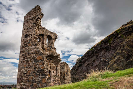 Scotland landscape, Edinburgh. photo