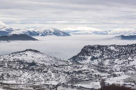 abruzzo: Snowy mountains