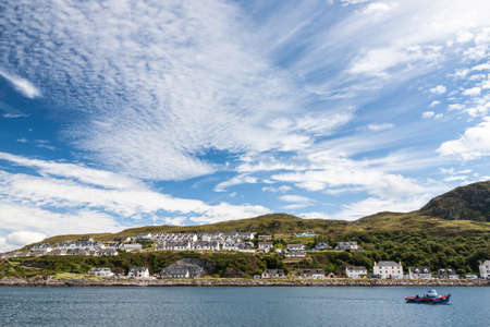jacobite: View of Mallaig, a little port in Lochaber, on the west coast of the Highlands of Scotland.