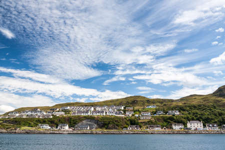 View of Mallaig, a little port in Lochaber, on the west coast of the Highlands of Scotland. photo