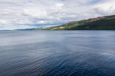Loch Ness in the Scottish Highlands, Scotland photo
