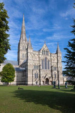 Salisbury Cathedral, Wiltshire, England, UK photo