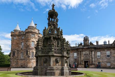 Holyrood Palace in Edinburgh, Scotland, UK