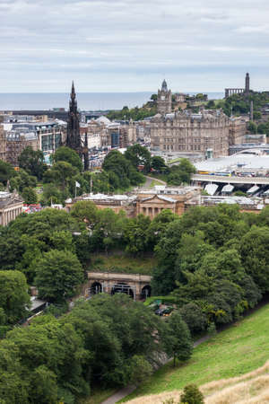 Edinburgh Skyline, Scotland, UK