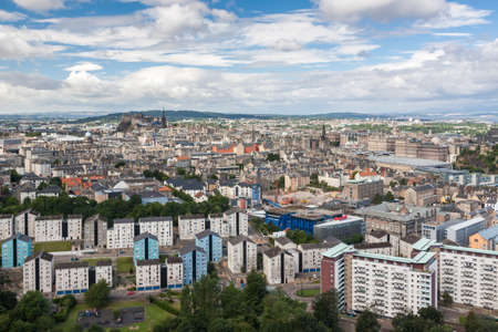 Edinburgh Skyline, Scotland, UK photo