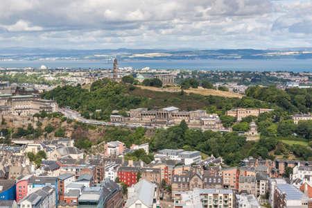 lothian: Edinburgh Skyline, Scotland, UK