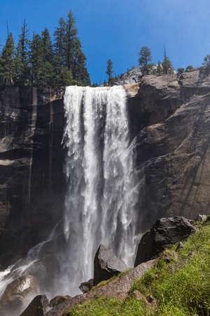 vernal: Vernal Fall in Yosemite National Park, California, USA.