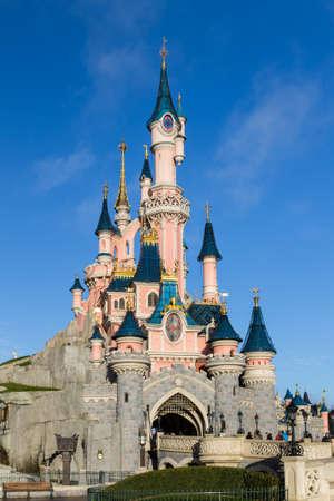 isneyland Castle Paris, Paris, France