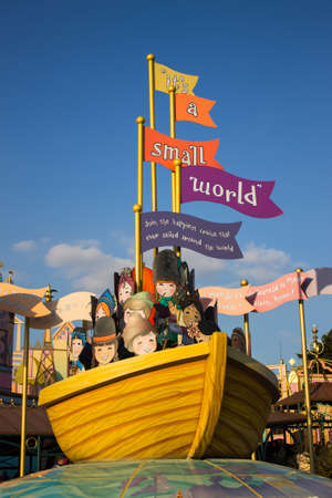 small world: Disneyland Paris Attraction, Its a small world, France Editorial