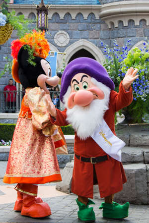 minnie mouse: Disneyland Paris Parade