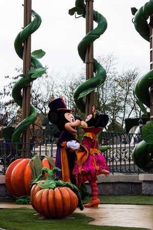 Disneyland Paris during Halloween Celebrations