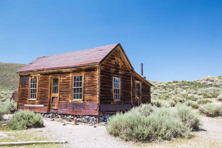 Bodie Ghost Town in California, USA.