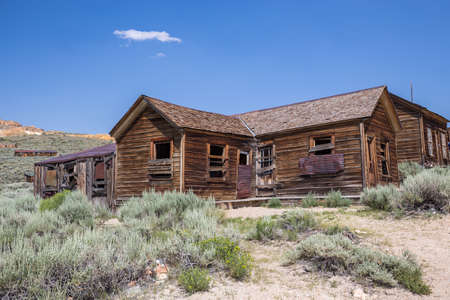 abandoned: Bodie Ghost Town in California, USA.