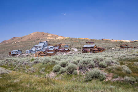 bodie: Bodie Ghost Town in California, USA.