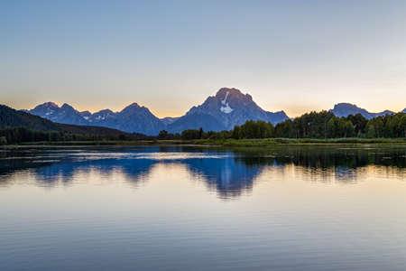 oxbow: Grand Teton National Park, Wyoming, USA