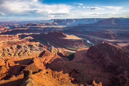 sunshine state: Dead Horse Point State Park, Utah, USA Stock Photo