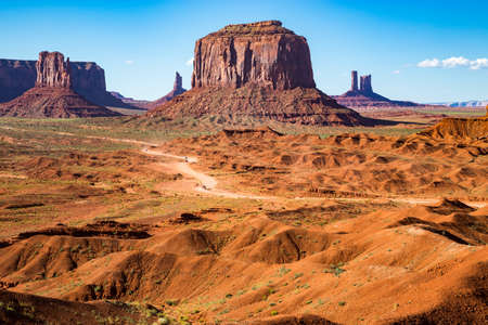 united states: Monument Valley Navajo Tribal Park, Utah, USA Stock Photo