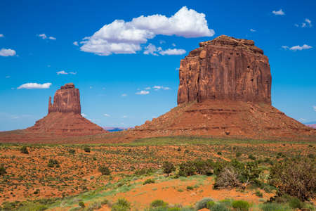 tribal park: Monument Valley Navajo Tribal Park, Utah, USA Stock Photo