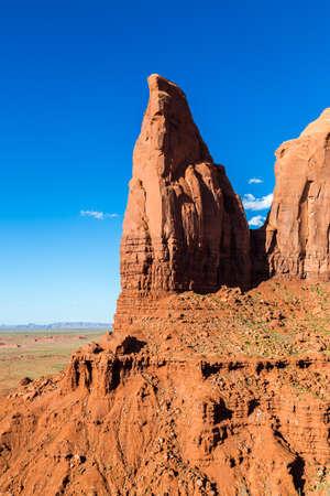 tribal park: Monument Valley Navajo Tribal Park, Utah, USA Stock Photo