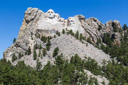 south dakota: Mount Rushmore National Memorial, South Dakota, USA. Editorial