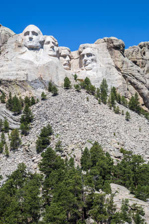 thomas stone: Mount Rushmore National Memorial, South Dakota, USA. Editorial