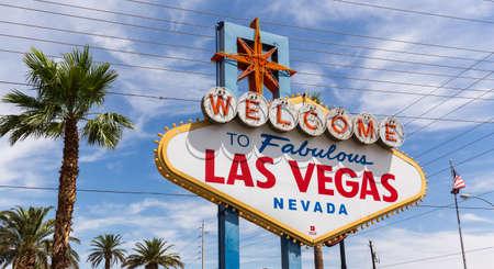 Benvenuti a segno di Las Vegas