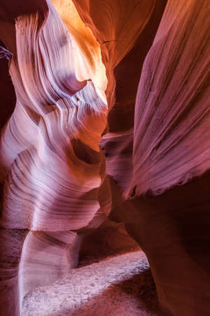 crevice: Antelope Canyon in the Navajo Reservation near Page, Arizona, USA.