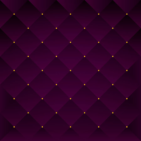 Quilted purple pattern.