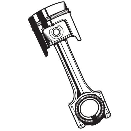 Piston - Illustration