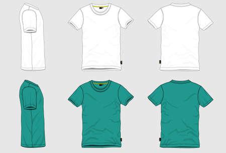 menswear: R neck T-shirt