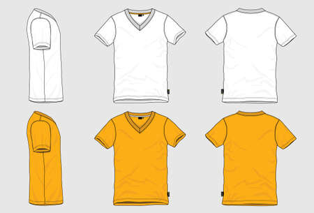 tshirts: V neck T-shirt