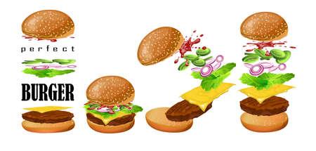 floating: Burger floating scheme