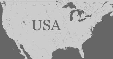 Free Us Vector Map - Free usa map vector
