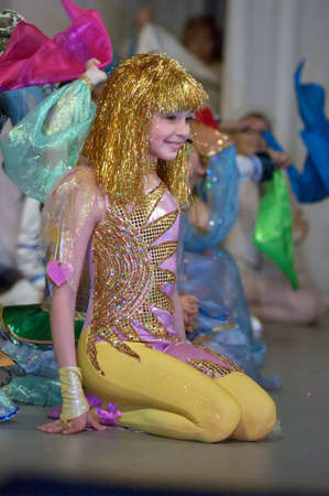 27 years old: DNIPROPETROVSK, UKRAINE - MAY 7: Unidentified children, ages 8-12 years old, perform DREAMLAND on May 27, 2006 in Dnipropetrovsk, Ukraine