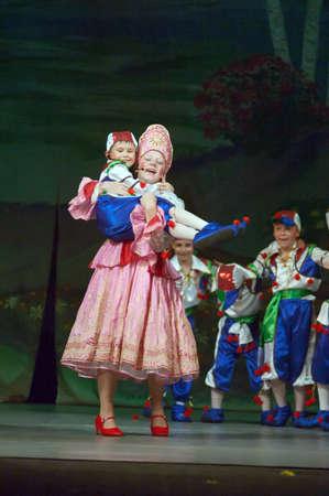 dreamland: DNIPROPETROVSK, UKRAINE - JUNE 1: Unidentified children, ages 8-14 years old, perform DREAMLAND on June 1, 2007 in Dnipropetrovsk, Ukraine