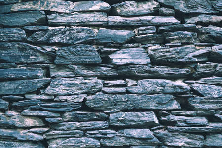 Stone brick wall texture background. Natural material.
