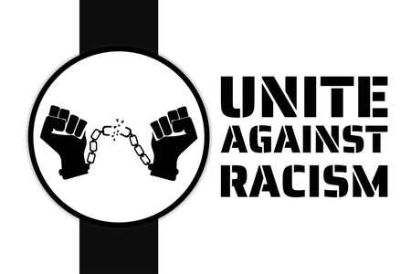Black Lives Matter concept. Template for background, banner, poster with text inscription. Vector illustration. 벡터 (일러스트)