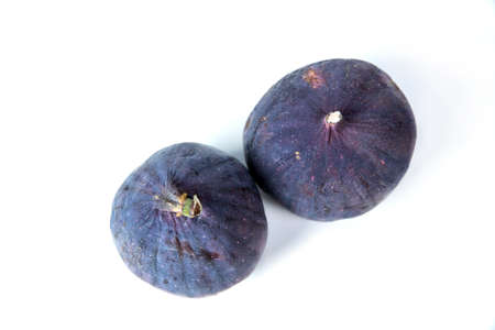 figs on white background. two things 写真素材 - 132048420