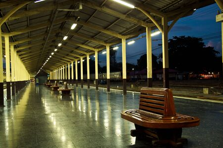 estacion tren: Estaci�n de tren  Foto de archivo