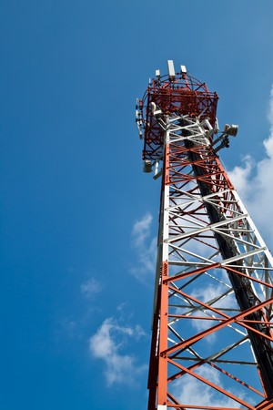 cell phone tower: Antenna