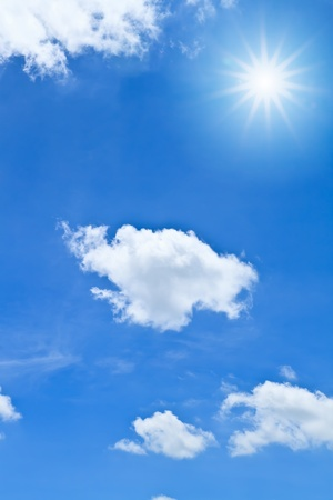 Blue sky and white cloud Stock Photo - 8671025