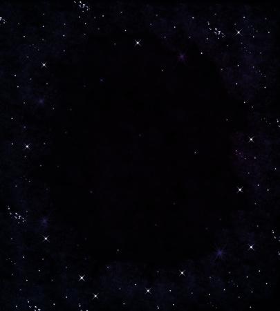 Star on sky at night Stock Photo - 9063342