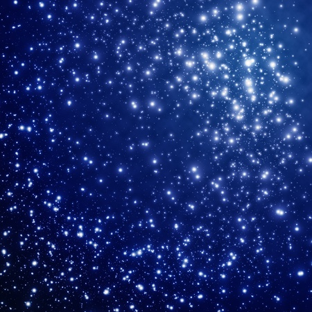 Star on sky at night Stock Photo - 9063307