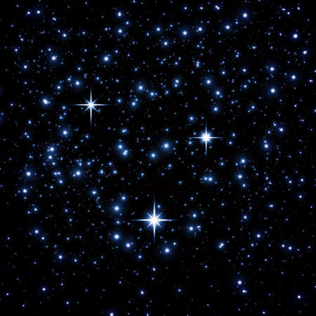 Bright star on space Stock Photo - 9163770