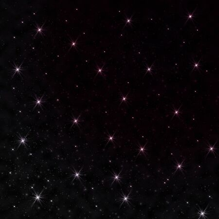 Star on space Stock Photo - 9163819
