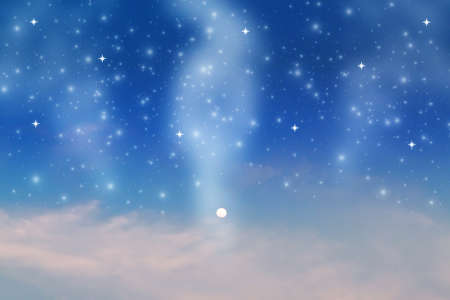 Star on sky at night Stock Photo - 9383419