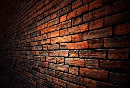 brick wall background photo