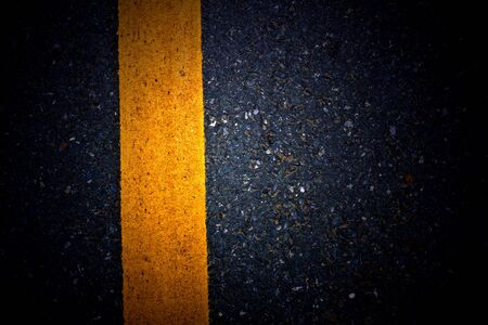 straight lines: yellow lines on asphalt