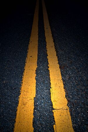 road marking: Road Marking - Double Yellow Lines
